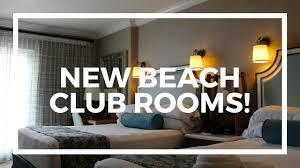 new rooms at disney u0027s beach club resort youtube