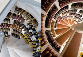 spiral wine cellar wine cellar in kitchen floor video round