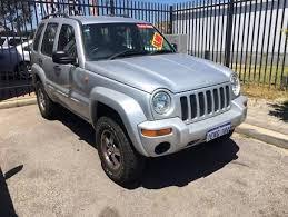 turbo jeep cherokee 2006 jeep cherokee renegade turbo diesel kj 4x4 cars vans utes