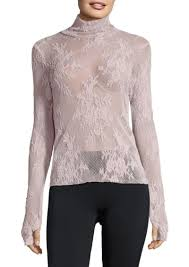 free people free people sweet secrets lace turtleneck top casual