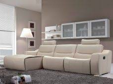 sectional recliner sofa the supremely comfortable italian leather salerno recliner sofa