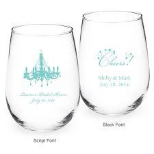 stemless wine glasses wedding favors personalised wine glasses wedding favors lading for