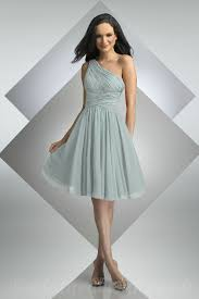 knee length bridesmaid dresses one shoulder chiffon knee length cheap bridesmaid dresses with
