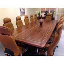 dark wood conference table wooden conference table at best price in india