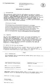 u s department of labor office of workers u0027 compensation