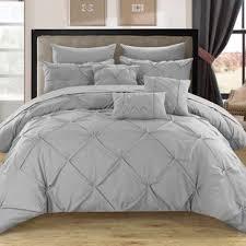 Gray Bed Set Modern Gray Silver Bedding Sets Allmodern