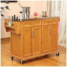 Kitchen Islands Big Lots Stainless Steel Top Kitchen Island Bamboo Stainless Steel Top
