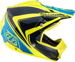 yellow motocross helmet troy lee designs se3 neptune yellow motocross helmets troy lee