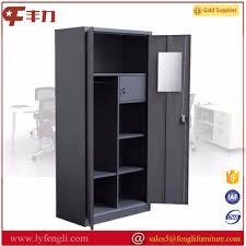 best selling online steel furniture bedroom clothes almirah