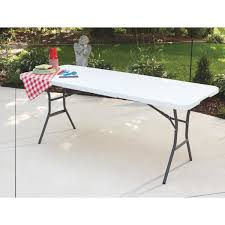 lifetime rectangle fold in half table 5011 oman and son