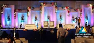 Wedding Reception Stage Decoration Images Wedding Reception Stage Flower Decoration 2 U2013 Sigaram Events