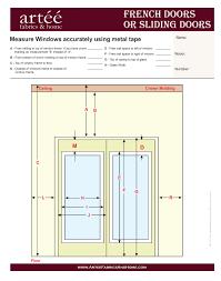 patio doors how to measuretio door for blinds replacement