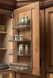 Red Oak Kitchen Cabinets by Spice Rack Kitchen Cabinet Home Decorating Interior Design