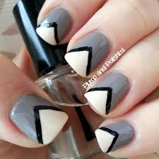 13 easy nail designs with lines dots and lines nail art design