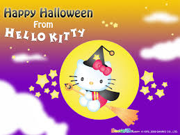 happy halloween background hello kitty halloween backgrounds wallpapersafari