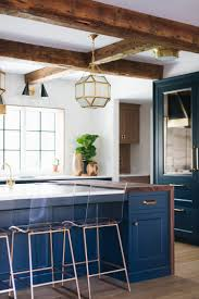 blue kitchen island cabinets forever classic blue kitchen cabinets centsational style