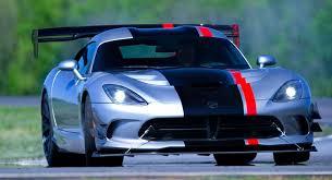 fastest dodge viper in the 2016 dodge viper acr is the fastest track viper