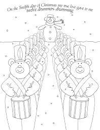 12 drummers drumming christmas winter redwork pinterest
