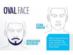 the best beard and mustache styles for every guy u0027s face shape