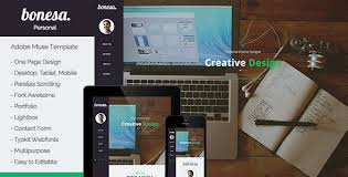 adobe muse mobile templates bonesa portfolio one page muse template by museframe themeforest
