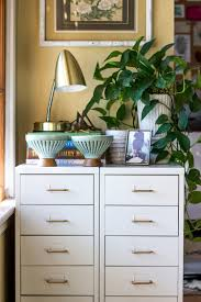 ikea makeup vanity hack how to give file cabinets a fast easy and chic update filing