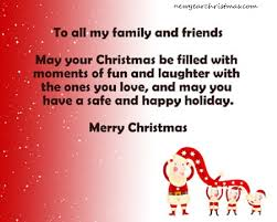 merry wishes for family and friends merry
