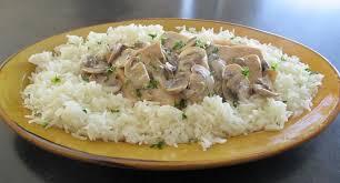 cuisiner le blanc de poulet blanc de poulet à la crème et chignons recettes cookeo