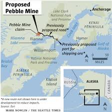 Gulf Of Alaska Map Washington Fishermen Are On Front Lines In Fight Against Proposed