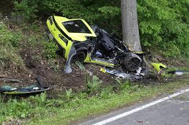 corvette crash two injured when corvette hits tree on huron river drive near