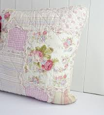 shabby chic clothes shabby chic country style patchwork cushion