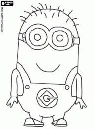 cartoon coloring free despicable coloring pages minions free