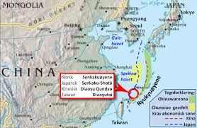 Qingdao China Map by China Explains Claim To Diaoyu Island Yesterday U0027s Shadow
