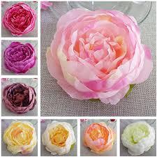 cheap bulk flowers 20pcs silk peony heads 10cm flowers silk peonies wholesale