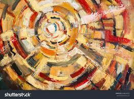 original oil painting on canvasabstractsthe art stock illustration