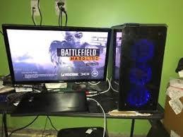 Gaming Desk Top I7 7700k Nvidia Gtx 1080ti 11gb 256gb Ssd 2tb 16gb Gaming Desktop