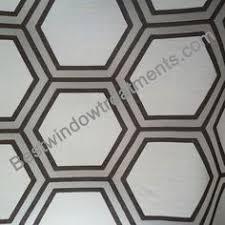 108 Inch Black And White Curtains Caesar Stone Quatrefoil Moroccan Trellis Tile Curtain Panel