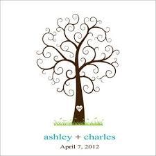 Wedding Tree Free Thumbprint Tree Guest Book U2013 Craftbnb