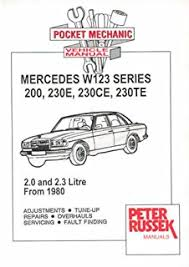 mercedes w123 owners workshop manual 1976 1986 200 230 230e