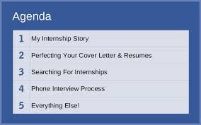 how i got an internship facebook