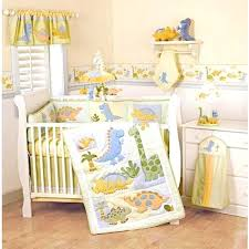 Dinosaur Nursery Decor Best Designing Room Babys Nursery Crib Bedding Animal Trees Waters