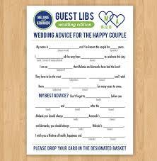 wedding mad libs template diy free wedding mad libs crafthubs