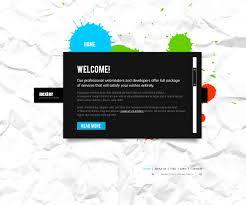 website template 34956 nexter design splash custom website