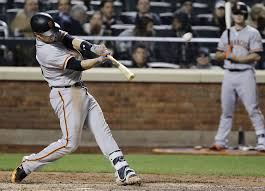 buster posey at the plate did minor adjustment propel a power