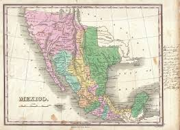 California Arizona Map by Old Map Of Mexico And California Google Search California