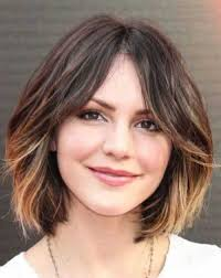 rounded layer haircuts 25 cute short haircuts for round faces http www short