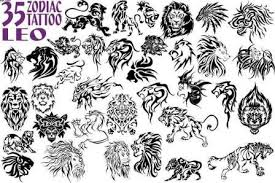 35 leo zodiac tattoo designs in 2017 real photo pictures images