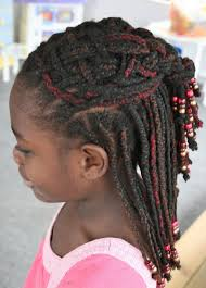of braided hairstyles for kids with weave