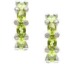 Peridot Chandelier Earrings Judith Ripka U2014 Earrings U2014 Jewelry U2014 Qvc Com