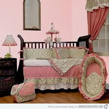 Pink And Green Nursery Decor 15 Pink Nursery Room Design Ideas For Baby Home Design Lover