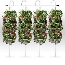 Homemade Vertical Garden Diy Stackable Planter